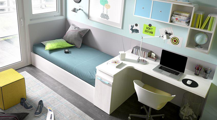 Amueblar habitacion juvenil pequenas amueblarion juvenil - Amueblar habitacion juvenil pequena ...