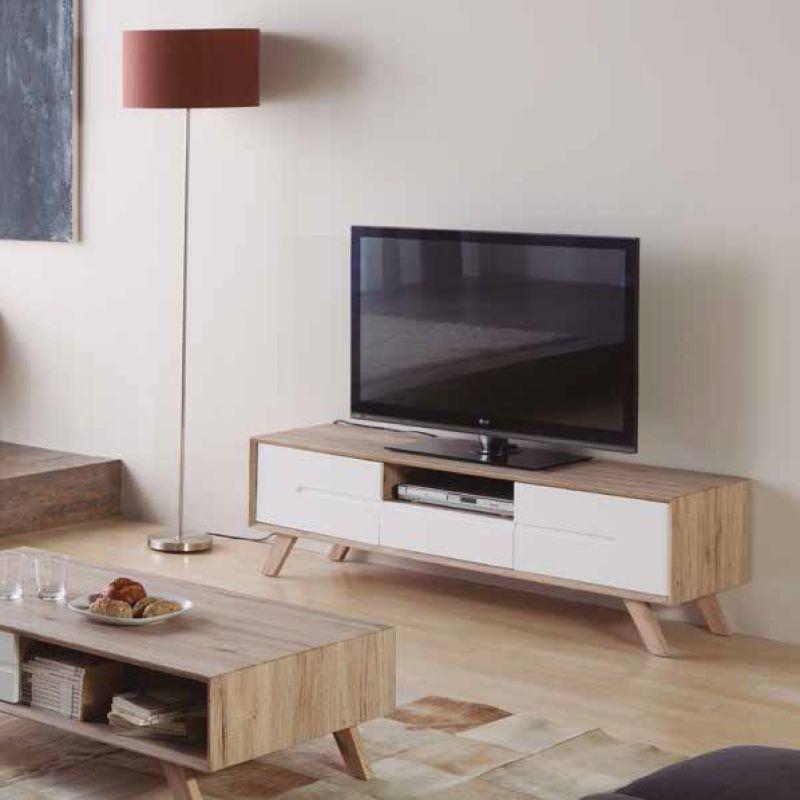Mesa television olga salon mueble tv muebles en valencia for Muebles tv valencia