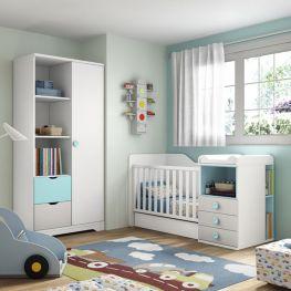 Dormitorio infantil Smile 100