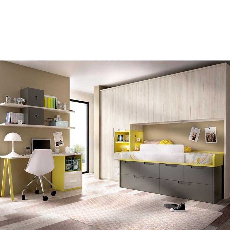 juvenil | cuarto juvenil | dormitorio juvenil mundo joven | muebles...