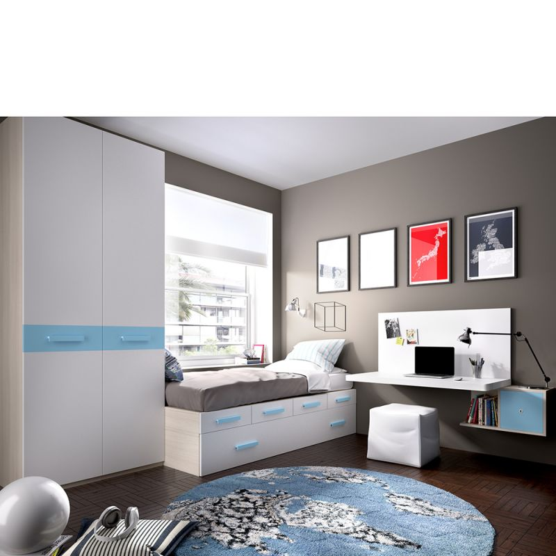 Juvenil cuarto juvenil dormitorio juvenil mundo joven - Mundo joven muebles ...