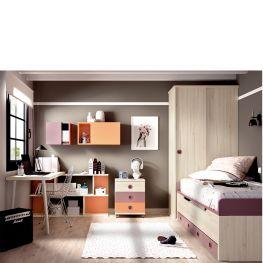 Dormitorio juvenil H101