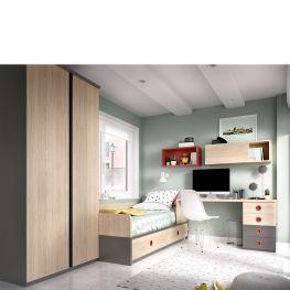 Dormitorio juvenil H208